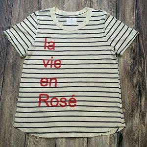 Anthropology Sol Angeles La Vie En Rose' T-Shirt